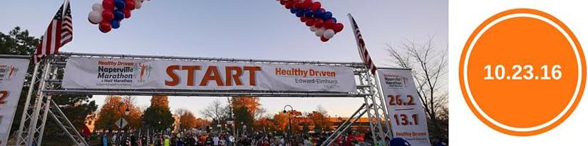 Edward Hospital Naperville Marathon and Half Marathon