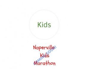 Naperville Kids Marathon